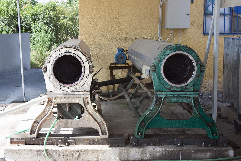 Φυγοκεντρικά µηχανήµατα στυψίµατος